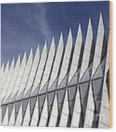 United States Airforce Academy Chapel Colorado Wood Print
