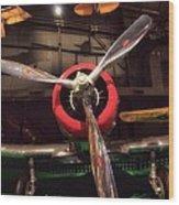 United States Airplane Museum Wood Print