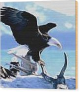 United States King Wood Print