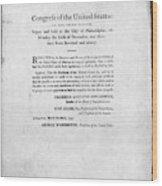 United States Mint, 1792 Wood Print