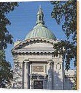 United States Naval Academy Chapel Wood Print