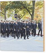 United States Naval Academy In Annapolis Md - 121240 Wood Print by DC Photographer