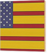 United States Of Iberia Wood Print