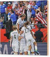 United States V Colombia Round Of 16 - Wood Print