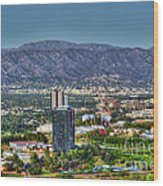 Universal City Warner Bros Studios Clear Day Wood Print
