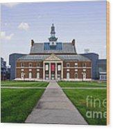 University Of Cincinnati Tangeman University Center  Wood Print