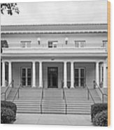 University Of La Verne Miller Hall Wood Print by University Icons