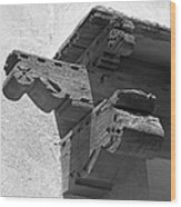 University Of New Mexico Decorative Detail Wood Print by University Icons