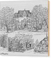 University Of Pennsylvania Wood Print