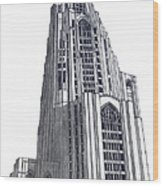 University Of Pittsburgh Wood Print