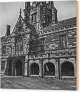 University Of Sydney Quadrangle  V5 Wood Print