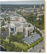 University Of Washington Medical Wood Print