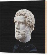 Unknown Artist, Portrait Of Antoninus Wood Print