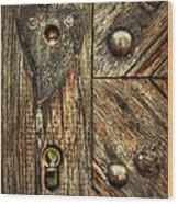 Unlock My Heart Wood Print