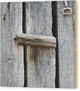 Unlock The Past Wood Print