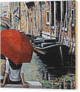 Uno Sguardo Al Canale Wood Print