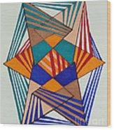 Unravel Wood Print