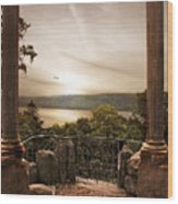 Untermyer Views Wood Print