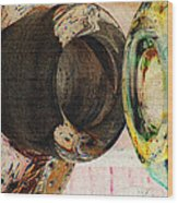 Untitled Abstract No.3 Wood Print