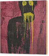 Untitled Demon Wood Print