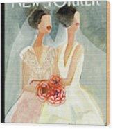 June Brides Wood Print