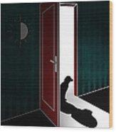 Untitled No.02 Wood Print