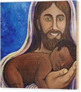 Unto You A Godly Son Is Given Wood Print