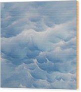 Unusual Cloud Formation Wood Print