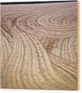 Non Level Playing Field Wood Print