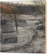 Up A Holler Wood Print