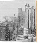 Up Broadway 1901 Wood Print by Steve K