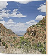 Up From Jerome Arizona Wood Print