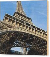 Up The Eiffel Tower 1 Wood Print