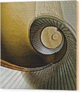 Up The Stairway Wood Print
