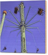 Up Up And Away 2013 - Coney Island - Brooklyn - New York Wood Print