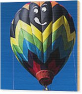 Up Up And Away In My Beautiful Balloon Wood Print by Edward Fielding
