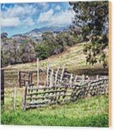 Upcountry 2 Wood Print