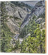 Upper Bear River Valley Wood Print