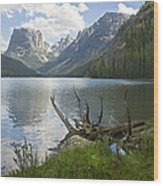 Upper Green River Lake Wood Print