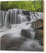 Upper Jonathan Run Falls D300_16557 Wood Print