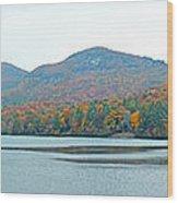 Upper Lake Toxaway In The Fall 2 Wood Print