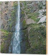 Upper Multnomah Falls Wood Print