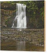 Upper North Silver Falls 2 Wood Print