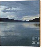 Upper Priest Lake Wood Print