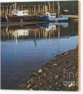 Upper Salmon River Wood Print