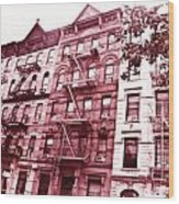 Upper West Side Wood Print