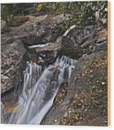 Uppre Chasm Falls Wood Print