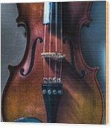 Upright Violin - Cool Wood Print