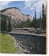 Upriver In Washake Wilderness Wood Print