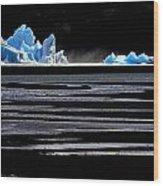 Upsala Glacier Wood Print by Arie Arik Chen